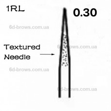 Иглы текстурированные 1R (0.30mm)