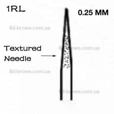Иглы текстурированные 1R (0.25mm)