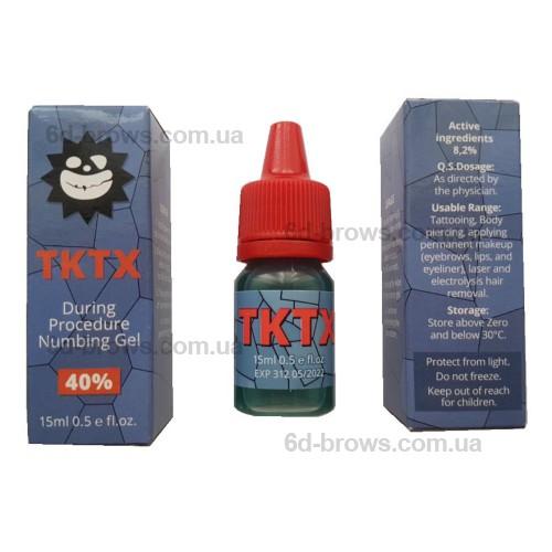 TKTX гель. Вторичная анестезия